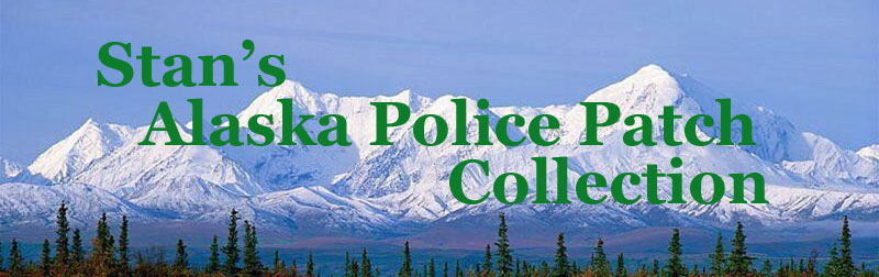 Stan's Alaska Police Patch Collection
